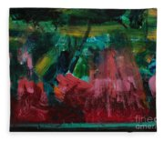 Inner Landscape2 Fleece Blanket