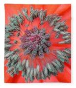 Inner Poppy Fleece Blanket
