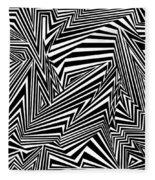 Inner Undulations Fleece Blanket