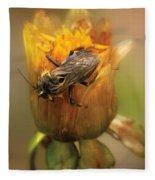 Insect - Bee - Dare To Bee Different Fleece Blanket