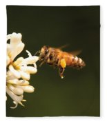 Insect - Bee - Honey I'm Home Fleece Blanket