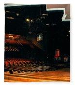 Inside Grand Ole Opry Nashville Fleece Blanket