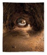 Inside Thurstons Lava Tube Fleece Blanket