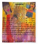 Inspiration Angels II Fleece Blanket
