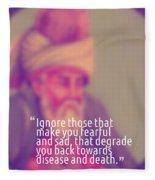 Inspirational Quotes - Motivational - 160 Fleece Blanket