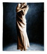 Intense Ballerina Fleece Blanket