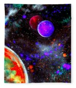 Intense Galaxy Fleece Blanket