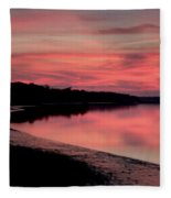 Intense Pink Fleece Blanket