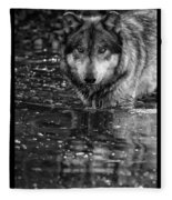 Intense Reflection Fleece Blanket