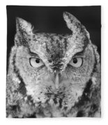 Intense Stare Fleece Blanket