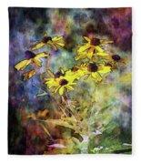 Intense Yellow 3227 Idp_2 Fleece Blanket