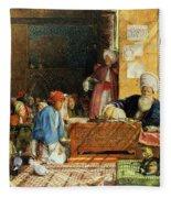 Interior Of A School - Cairo Fleece Blanket