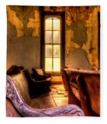 Interior Old Church Fleece Blanket