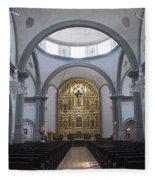 Interior San Juan Capistrano Fleece Blanket