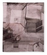 Interior Space Fleece Blanket