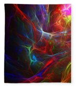 Internal Demons Fleece Blanket