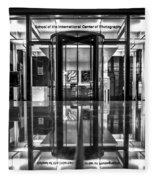 International Center Of Photography, Nyc Fleece Blanket