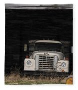 International Truck Fleece Blanket