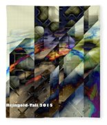 Interstellar Hacker Fleece Blanket