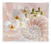 Intimate Fusion In Soft Pink Fleece Blanket