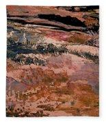 Into Fantasy Landscapes Fleece Blanket