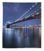 Into The Arms Of The Night Fleece Blanket