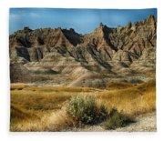 Into The Badlands South Dakota Fleece Blanket
