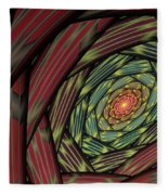 Into The Fantasy Tunnel Fleece Blanket