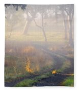 Into The Mist Fleece Blanket