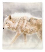 Into The Mist Fleece Blanket