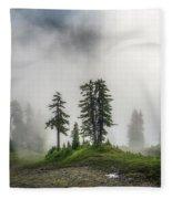 Into The Myst Fleece Blanket