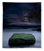 Into The Shadows Fleece Blanket