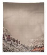 Into The Void Fleece Blanket