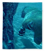 Into The Wild Blue Fleece Blanket