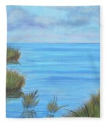 Intracoastal Waterway Fleece Blanket
