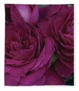 Intrigue Rose Fleece Blanket