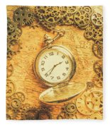 Invention Of Time Fleece Blanket
