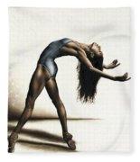 Invitation To Dance Fleece Blanket