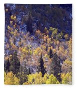 Inyo Aspens Fleece Blanket