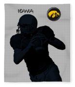Iowa Football  Fleece Blanket