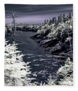 iR Scene no. 13 Fleece Blanket