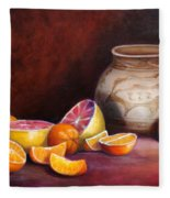 Iranian Still Life Fleece Blanket