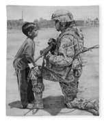 Iraq Fleece Blanket
