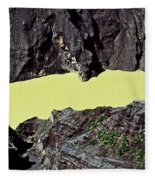 Irazu Volcano - Costa Rica Fleece Blanket