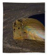 Iridescent Pen Shell  Fleece Blanket