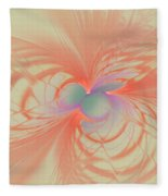 Iridescent Pink Fleece Blanket