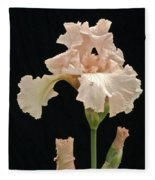 Iris 2 Fleece Blanket