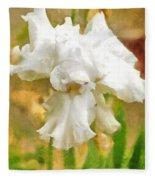 Iris 42 Fleece Blanket