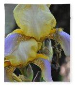 Iris Beauty Fleece Blanket