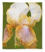Iris Canary Frills Fleece Blanket